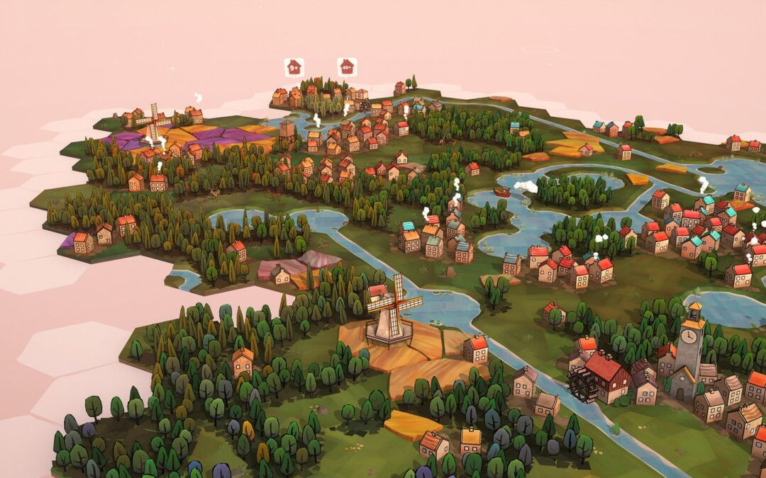 Slow Down With These Serene City-Building Games